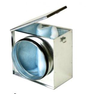 Cajas de filtro construida en acero galvanizado