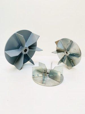 Rodetes ventiladores construidos en chapa