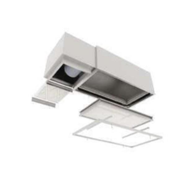 Difusor de aportación de aire filtrado HEPA