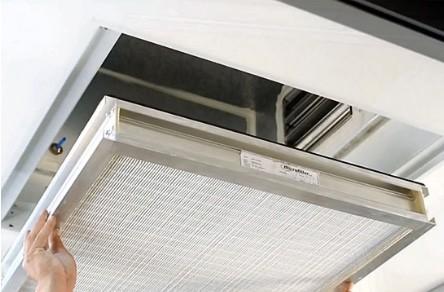 Difusor de aportación de aire HEPA