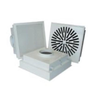 Difusor de techo para aportación de aire