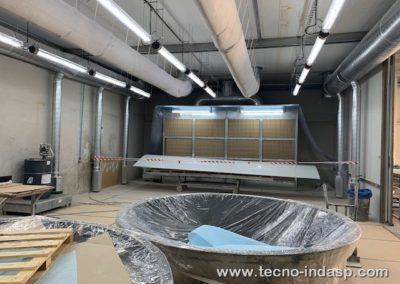CONSTRUCCIÓN DE CABINA DE ASPIRACIÓN PARA GASES DE ESTIRENO